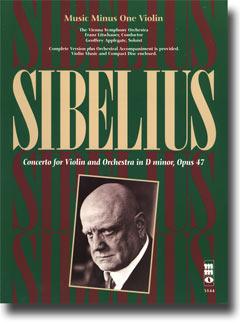 SIBELIUS Violin Concerto in D minor -  op. 47 (minus Violin)