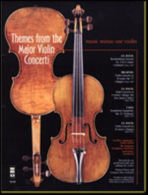 Themes from the Major Violin Concerti (minus Violin)