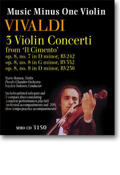 VIVALDI Violin Concerti -  op. 8 -  nos. 7 -  8 -  9 (3 concerti) from 'Il Cimento' (2 CD set) (minu