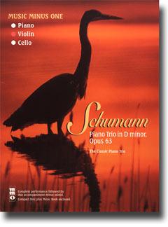 SCHUMANN Piano Trio No. 1 in D minor -  op. 63 (minus Violin)