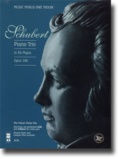 SCHUBERT Piano Trio in E-flat major -  op. 100 -  D929 (2 CD Set) (minus Violin)
