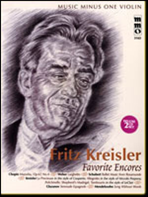KREISLER Favorite Encores (2 CD Set) (minus Violin)