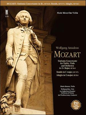 MOZART Sinfonia Concertante for Violin -  Viola and Orchestra in E-flat major -  KV364; Adagio in E;