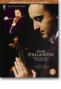 PAGANINI Concerto No. 1 in D -  op. 6 (2 CD set) (minus Violin)