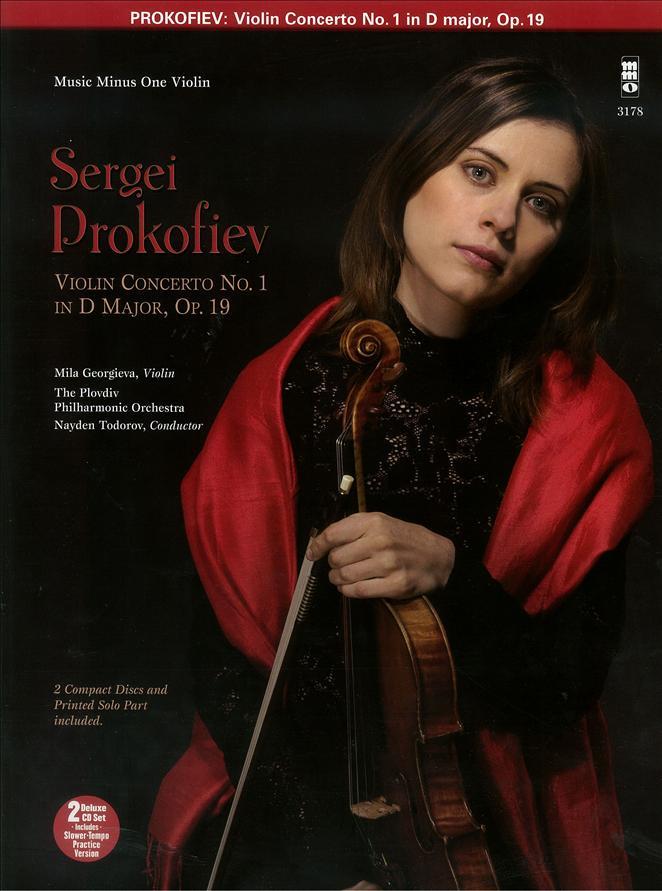 PROKOFIEV Violin Concerto No. 1 in D major -  op. 19 (2 CD set) (minus Violin)