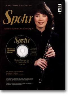 SPOHR Clarinet Concerto No. 1 in C minor -  op. 26 (Digitally Remastered 2 CD set) (minus Clarinet)