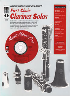 First Chair Clarinet Solos: Orchestral Excerpts (minus Clarinet)