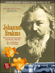 BRAHMS Sonatas in F minor and E-flat -  op. 120 (2 CD Set) (minus Clarinet)