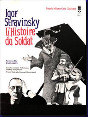 STRAVINSKY L'Histoire du Soldat (septet) (minus Clarinet)