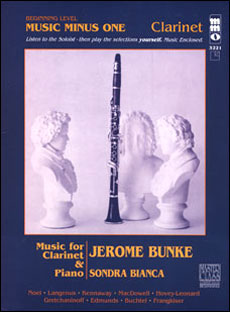 Beginning Clarinet Solos -  vol. I (Jerome Bunke)