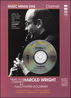 Beginning Clarinet Solos -  vol. II (Harold Wright)