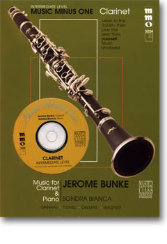 Intermediate Clarinet Solos -  vol. II (Jerome Bunke)
