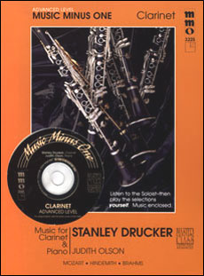 Advanced Clarinet Solos -  vol. I (Stanley Drucker)