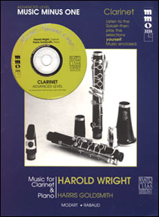 Advanced Clarinet Solos -  vol. II (Harold Wright)
