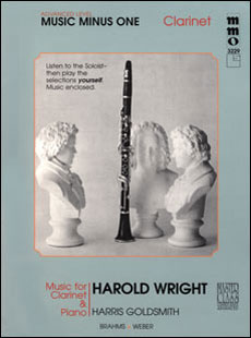 Advanced Clarinet Solos -  vol. IV (Harold Wright)