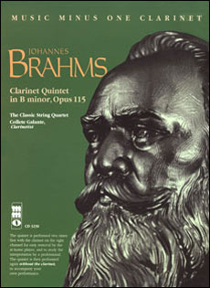 BRAHMS Clarinet Quintet in b -  op. 115 with downloadable tracks