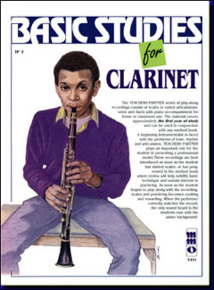 Teacher's Partner: Basic Clarinet Studies for the Beginner (minus Clarinet)