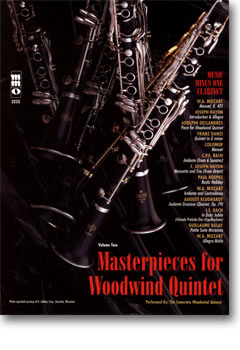Woodwind Quintets -  vol. II: Masterpieces for Woodwind Quintet (minus Clarinet)