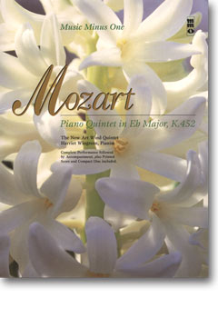 MOZART Quintet for Piano and Winds in E-flat -  KV452 (minus Clarinet)