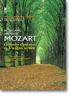 MOZART Clarinet Concerto in A -  KV622 (minus Clarinet)