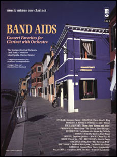 Band Aids: Concert Band Favorites with Orchestra (minus Clarinet)