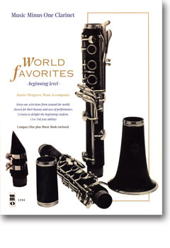 World Favorites: Student Editions -  41 Easy Selections (1st-3rd year) (minus Clarinet)