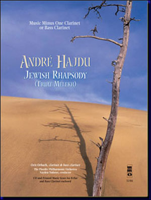 HAJDU Jewish Rhapsody for Clarinet/Bass Clarinet & Orchestra