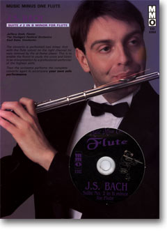 J.S. BACH Suite No. 2 for Flute & Strings in B minor -  BWV1067 (Digitally Remastered 2 CD set) (min