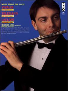 VIVALDI Flute Concerto in F major -  op. 10 -  no. 1 -  RV433 'La Tempesta di Mare'; TELEMANN Flute