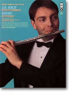 J.S. BACH Brandenburg Concerto No. 2 in F major; HAYDN Flute Concerto in D major -  HobVII/1 (minus