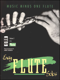Easy Flute Solos: Beginning Students -  vol. I (Digitally Remastered Version - 2 CD set) (minus Flut