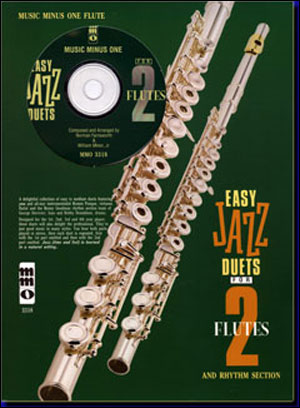 Easy Jazz Duets for Two Flutes and Rhythm Section