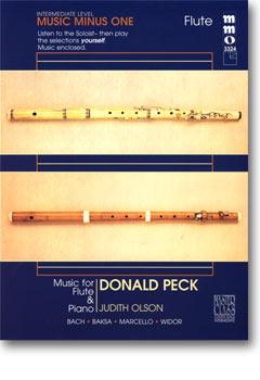 Intermediate Flute Solos -  vol. II (Donald Peck)