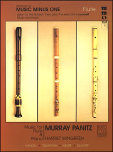 Advanced Flute Solos -  vol. III (Murray Panitz)