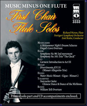 First Chair Solos with Orchestral Accompaniment (New Digitally Remastered 2 CD set) (minus Flute)