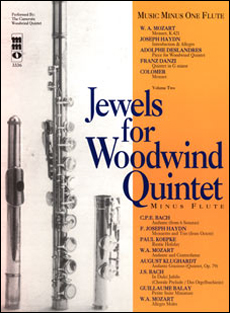 Woodwind Quintets -  vol. II: Jewels for Woodwind Quintet (minus Flute)