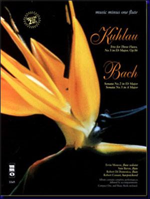 KUHLAU Trio in E-flat major; BACH Sonatas in E-flat and A major (2 CD set) (minus Flute)