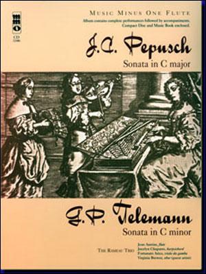 PEPUSCH Sonata in C; TELEMANN Sonata in C minor (minus Flute)