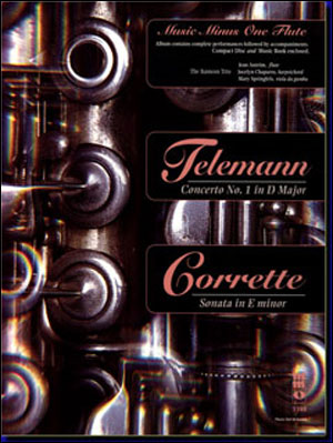 TELEMANN Concerto No. 1 in D major/ CORRETTE Sonata in E minor (minus Flute)
