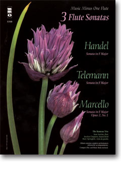 HANDEL; MARCELLO; TELEMANN Three Sonatas in F major for Flute -  harpsichord and viola da gamba (min
