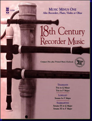 Eighteenth Century Recorder Music (2 CD SET) (minus Recorder)