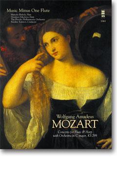 MOZART Concerto for Flute & Harp in C major -  KV299 (3 CD set) (minus Flute)