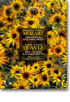 MOZART Flute Concerto No. 2 in D major -  KV314 (KV285d); QUANTZ Flute Concerto in G major (New Reco