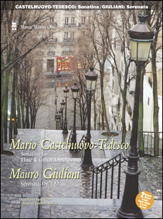 CASTELNUOVO-TEDESCO Sonatina for Flute & Guitar; GIULIANI Serenata for Flute & Guitar -  op. 127 (2