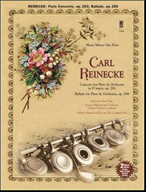 REINECKE Concerto for Flute & Orchestra/Ballade for Flute & Orchestra (minus Flute)