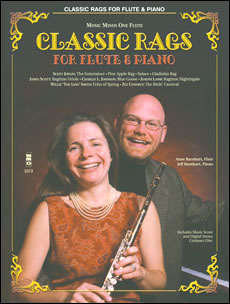 Classic Rags for Flute and Piano (minus Flute)