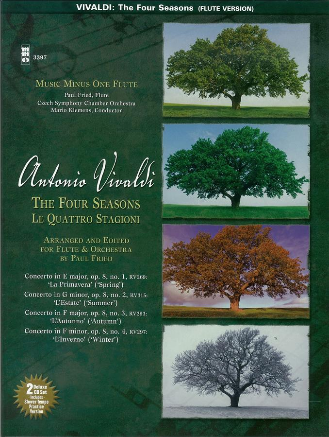 VIVALDI 'Le Quattre Stagioni' ('The Four Seasons') for Flute and Orchestra (arranged by Paul Fried)