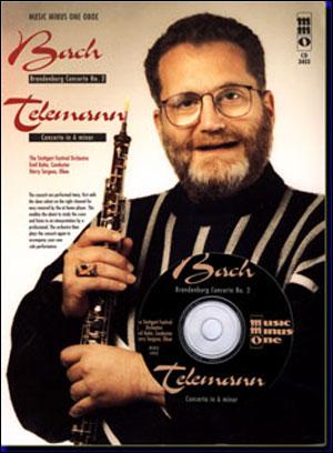 J.S. BACH Brandenburg Concerto No. 2; TELEMANN Concerto in A minor (minus Oboe)