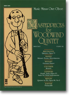Woodwind Quintets -  vol. I: Masterpieces for Woodwind Quintet (minus Oboe)
