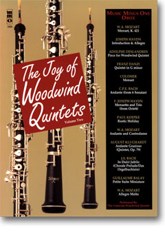 Woodwind Quintets -  vol. II: The Joy of Woodwind Quintets (minus Oboe)